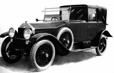 1922 Lancia Trikappa 35HP Coupe DeVille Factory Photo c116-91MGBH