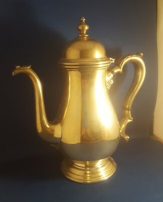 Kenilworth International Sterling Coffee Pot- 9 Cups  C385