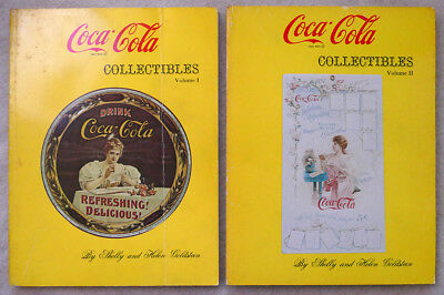 Coca-Cola Collectibles Volumes 1,2,3,4 Shelly Goldstein 1971 Free Shipping