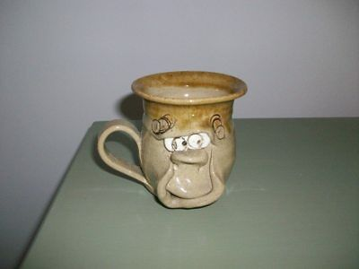 Pretty Ugly Mug - Welsh Pottery.