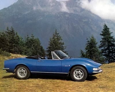 1967 Fiat Dino Spider Pininfarina Factory Photo c2935-GUCQIT