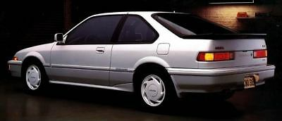 1988 Acura Integra LS Special Edition Factory Photo c2950-NJTW5X