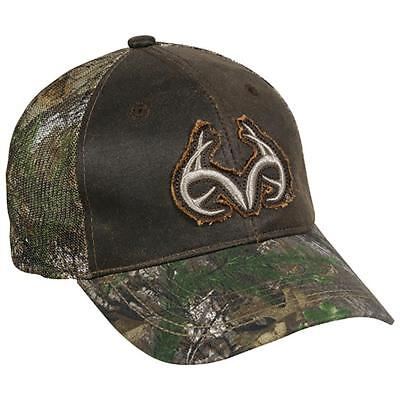 59981f1499f Outdoor Cap Mesh Back Hat Low Profile Brown Realtree Xtra