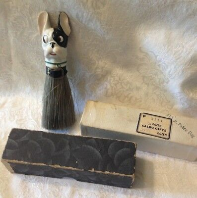 Vintage Boston Terrier Clothes Brush - Germany