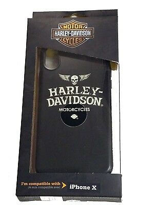 Harley Davidson Skull Logo Cover fits iPhone X and iPhone 10
