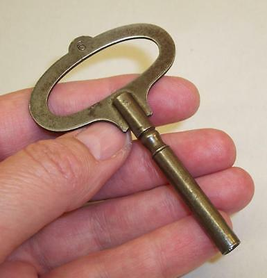 Vintage/Antique CLOCK KEY - No. 6 - Made in England - 4mm