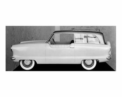 1958 Hudson Metropolitan Wagon Prototype Factory Photo c5305-J713RI