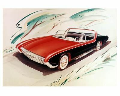 1956 Rambler Convertible Concept Car Art Factory Photo c5306-ICVM8W