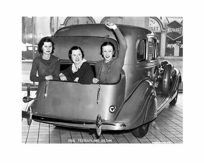 1935 Hudson Terraplane Sedan Factory Photo c6029-NMWWZG