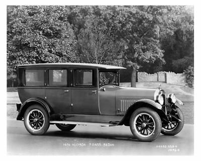 1926 Hudson 7 Passenger Sedan Factory Photo c6196-Z82B8L