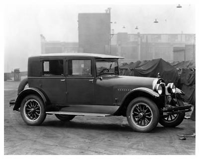 1926 Hudson Metal Back Brougham Factory Photo c6197-LYDHJ4