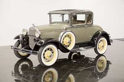 1930 Ford Model A Deluxe Rumble Seat Coupe 1930 Ford Model A Deluxe Rumble Seat Coupe