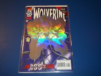 Wolverine #100 Awesome Holofoil Cover NM- Gem Wow
