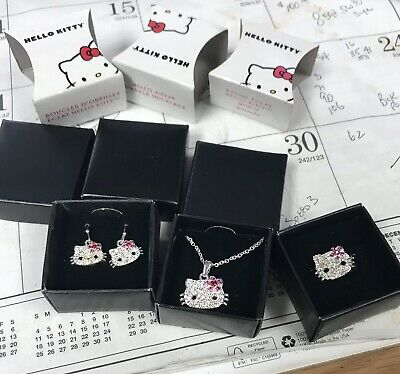83038d747 AVON~HELLO KITTY~SILVER PLATED ZODIAC Sign Necklace BRAND NEW ...