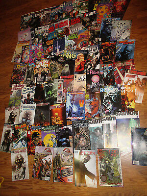 Misc Comics Lot of 65 Issues - Dead World, Spawn, Savior, and more