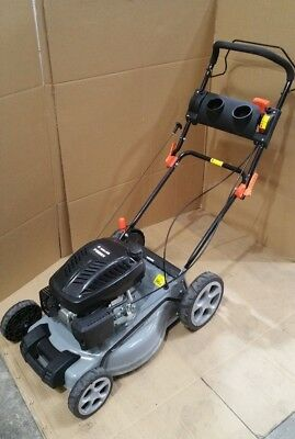 "Lawn Mower Self Propelled 18"" 165cc 4 Stroke Baumr-AG Petrol Lawnmower Catch"