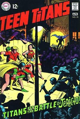 TEEN TITANS #20 G/VG, ROBIN, WONDER GIRL, SPEEDY, Neal Adams art, DC Comics 1969