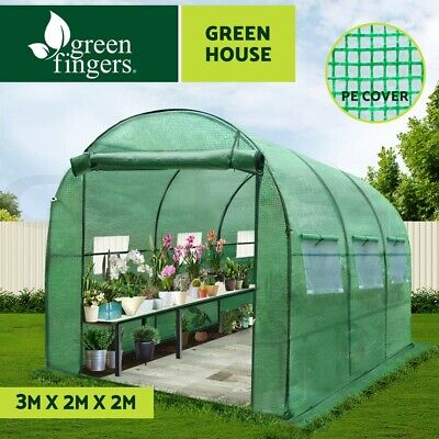 1.95x1.25M Garden Sheds Storage Tool Cheap Shed Workshop Shelter w/Roof Metal