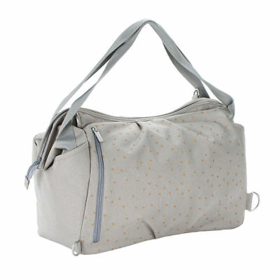 Couches, Changes Lässig Sac à Langer Casual Sac à Bandoulière Cork Star Gris Clair Toilette, Bain