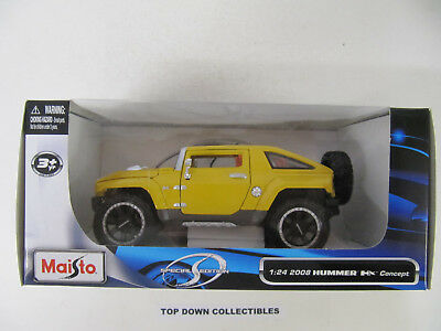 Maisto  Special Edition Yellow 2008 Hummer HX Concept   1:24 Scale  NEW Unopened