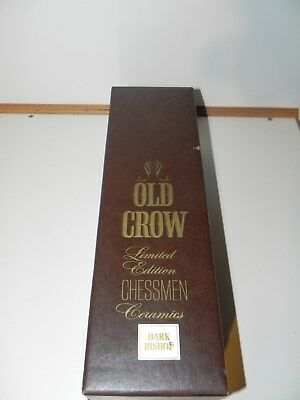 Old Crow Limited Edition Dark Bishop Chess Piece