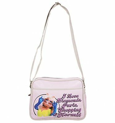 The Muppets : Miss Piggy Retro Style Pink Shoulder Bag