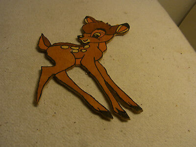 Small Vintage German Fretwork Bambi #AD5