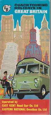 Dépliant Touristique:  COACH TOURING HOLYDAYS IN GREAT BRITAIN. 1961..