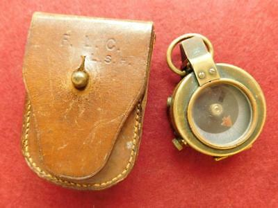 1904 Pre WW1 Short & Mason Verners Pattern Military Marching Compass 1908 MKV