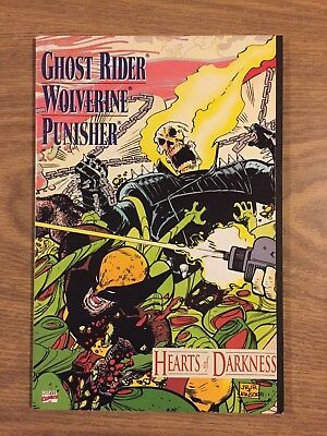Ghost Rider Wolverine Punisher Hearts of Darkness #1 1991 VF to NM Marvel