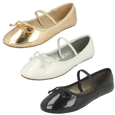 WHOLESALE Girls Ballerinas / Sizes 10-2 / 18 Pairs / HW2489