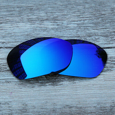 New Ice Blue Polarized replacement Lenses For-Oakley Tightrope