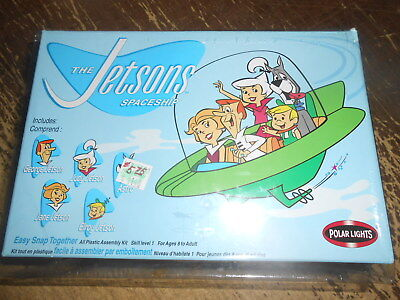 Polar Lights The Jetsons Spaceship Model Unstarted in Box #6810