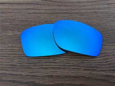 New Ice Blue Polarized Lenses For Oakley Big Square Wire