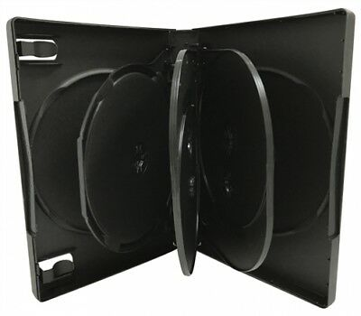 (SAMPLE) - 1 Black 7 Disc DVD Cases /w Patented M-Lock Hub