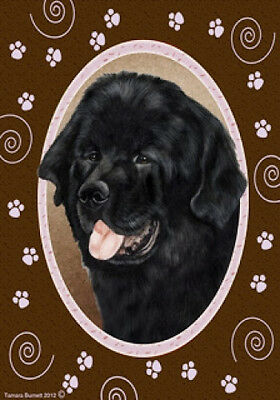 Large Indoor/Outdoor Paws Flag - Newfoundland 17079