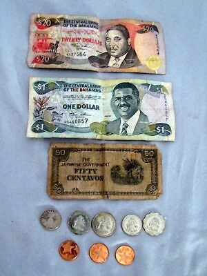 Money Lot - Paper & Coin - The Central Bank Of The Bahamas
