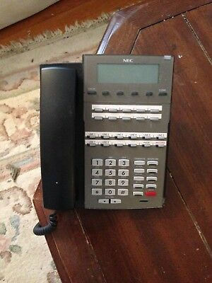 NEC DSX 22B Display BK Office Telephone Phone  Free shipping