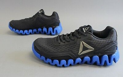 ... Reebok Men s Zig Evolution Running Shoes GG8 Lead Awesome Blue Size 8.5  ... b0313f3ee