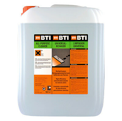 BTI Universal Cleaner 10 ltr. Workshop Industry Car Maschinen Cleaner Strong