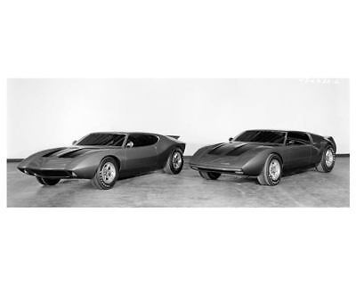 1969 AMC AMX Factory Photo c6559-32YGBA