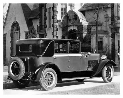 1928 Hudson Landau Sedan Factory Photo c7070-97711K