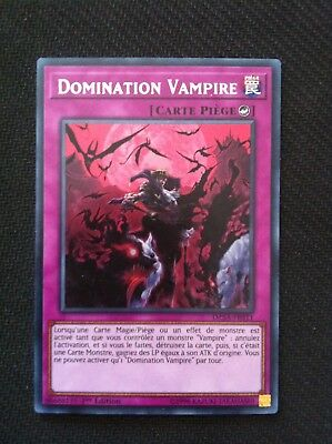 Yu-Gi-Oh Domination Vampire (Zombie) : DASA-FR011 -VF/Secret Rare-