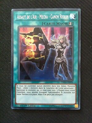 Yu-Gi-Oh  Assaut de l'Air - Mécha - Canon Requin : DASA-FR036 -VF/Secret Rare-
