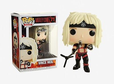 Funko Pop Rocks: Motley Crue - Vince Neil Vinyl Figure Item #30210