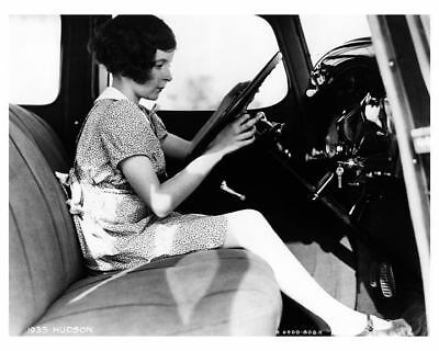 1935 Hudson Interior Factory Photo c7932-G6YIPY