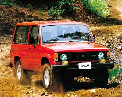 1984 Isuzu Trooper SUV Factory Photo c8120-TNZFAO