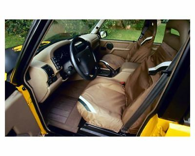 1997 Land Rover Discovery XD Interior Factory Photo c8730