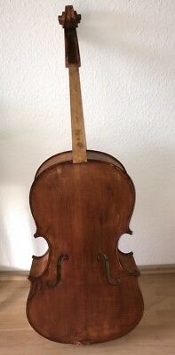 Musikinstrument Cello Paul Lorange Marseille 1940