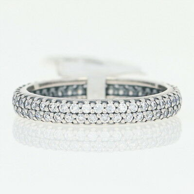 NEW Authentic Pandora Inspiration Within Ring -Sterling Clear 60 (US 9) 190909CZ